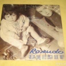 Disques de vinyle: ROSENDO - VINILO MUY BUENO . Lote 193372828