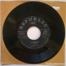 Discos de vinilo: JOYCE PAUL. CARIBBEAN/ I'VE FORGOTTEN MORE THAN YOU'LL EVER KNOW. REPUBLIC, USA 1953 SINGLE. Lote 193373220