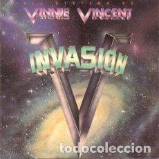 Discos de vinilo: VINNIE VINCENT INVASION_–ALL SYSTEMS GO. Lote 193374243