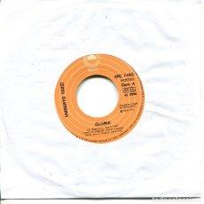 Discos de vinilo: UMBERTO TOZZI / TE AMO / GLORIA / MAMA MAREMMA (SINGLE 1979). Lote 193378535