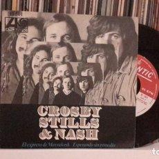 Discos de vinilo: CROSBY STILLS & NASH - MARRAKESH EXPRESS. Lote 193381431