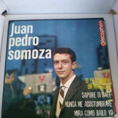Discos de vinilo: JUAN PEDRO SOMOZA SI YO TUVIERA UN MARTILLO. Lote 193384892