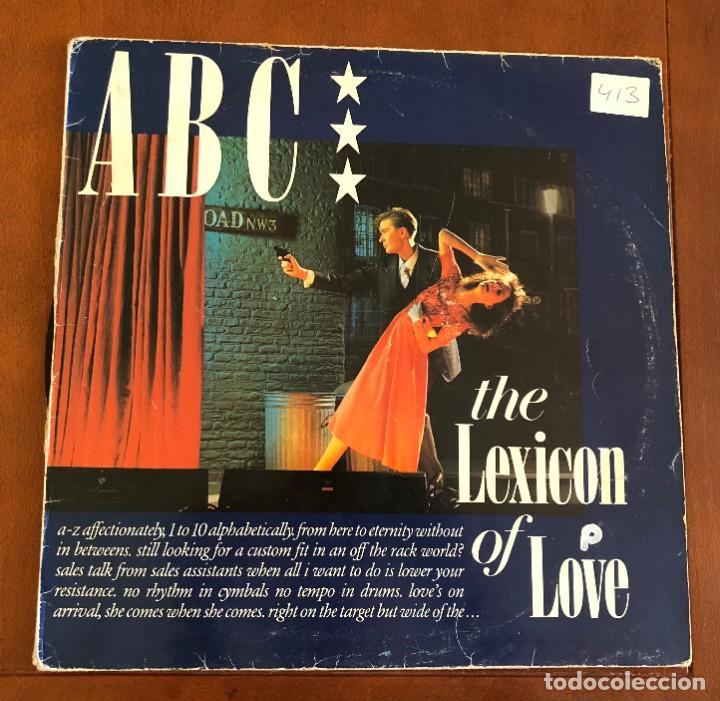 ABC – THE LEXICON OF LOVE. DISCO VINILO. ENTREGA 24H (Música - Discos de Vinilo - EPs - Pop - Rock - New Wave Extranjero de los 80)