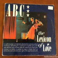 Discos de vinilo: ABC – THE LEXICON OF LOVE. DISCO VINILO. ENTREGA 24H. Lote 193390091