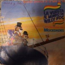 Discos de vinilo: MOCEDADES. LA VUELTA AL MUNDO DE WILLY FOG.. Lote 193392142