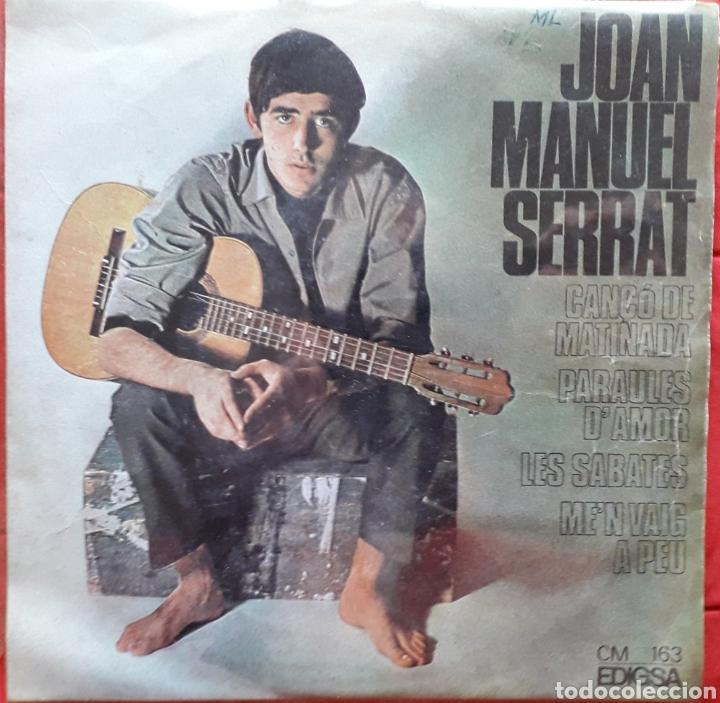 JOAN MANUEL SERRAT 3 - CANÇO DE MATINADA - PARAULES D'AMOR - SABATES - SINGLE (Música - Discos - Singles Vinilo - Cantautores Españoles)