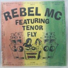Discos de vinilo: REBEL MC FEATURING TENOR FLY THE WICKEDEST SOUND 1991. Lote 193400550