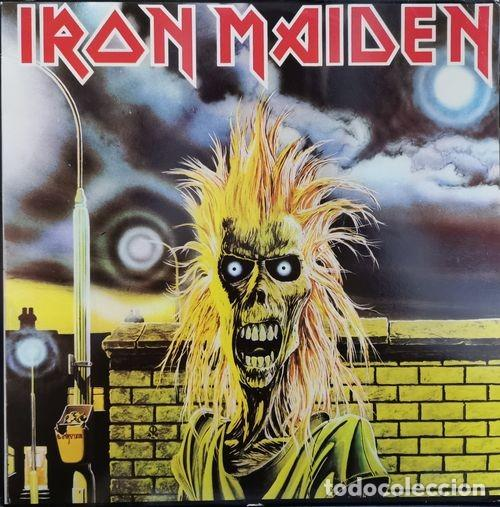 IRON MAIDEN - IRON MAIDEN - LP DE VINILO 1ª EDICION ESPAÑOLA (Música - Discos - LP Vinilo - Heavy - Metal)