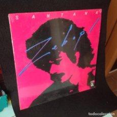 Discos de vinilo: SANTANA. ZEBOP LP 33 RPM. CBS EDICION PHILIPPINES PUBLICADO: 1981. ESTA NUEVO CERRADO. Lote 193403138