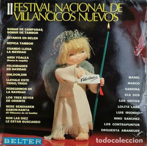 RECOPILACION BELTER LP 1968 - III FESTIVAL DE VILLANCICOS NUEVOS - LOS GRITOS ELS DOS CONTRAPUNTOS (Música - Discos - LP Vinilo - Grupos Españoles 50 y 60)