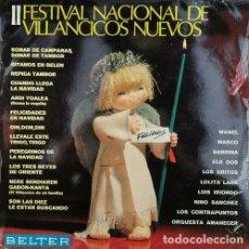 Discos de vinilo: RECOPILACION BELTER LP 1968 - III FESTIVAL DE VILLANCICOS NUEVOS - LOS GRITOS ELS DOS CONTRAPUNTOS. Lote 193403237