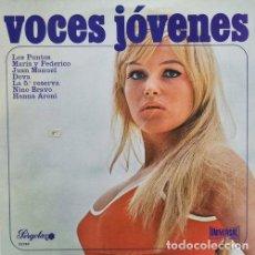 Discos de vinilo: RECOPILACION PERGOLA LP 25 CM 1973 - VOCES JOVENES - NINO BRAVO LOS PUNTOS LA 5ª RESERVA DOVA. Lote 193403475