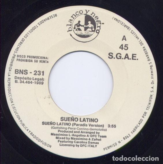 SUEÑO LATINO – SUEÑO LATINO (PARADISE VERSION) (Música - Discos - Singles Vinilo - Techno, Trance y House)
