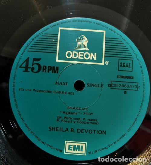 Discos de vinilo: SHEILA B DEVOTION - CANTANDO BAJO LA LLUVIA - MAXI SINGLE DE VINILO EDICION ESPAÑOLA - Foto 2 - 193403912