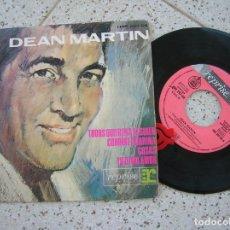 Discos de vinilo: DISCO DE DEAN MARTIN EP ,DE 1964 CONTIENE 4 TEMAS. Lote 193408751