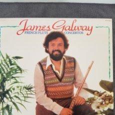 Disques de vinyle: FRENCH FLUTE CONCERTOS - JAMES GALWAY. Lote 193409722
