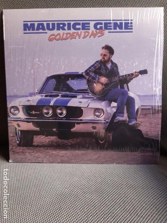 LP MAURICE GENE. GOLDEN DAYS (Música - Discos - Singles Vinilo - Cantautores Españoles)