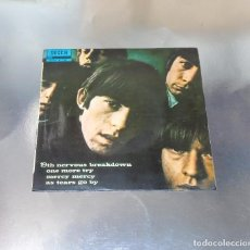 Discos de vinilo: THE ROLLING STONES --- 19TH NERVOUS BREAKDOWN & AS TEARS GO BY +2 1966 -- ( NM OR M- ). Lote 193437526