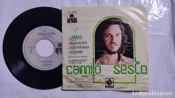 Discos de vinilo: Camilo Sesto - Jamás / Fresa Salvaje / Todo Por Nada / Ayudadme México 1976 (muy raro) - Foto 2 - 193453022