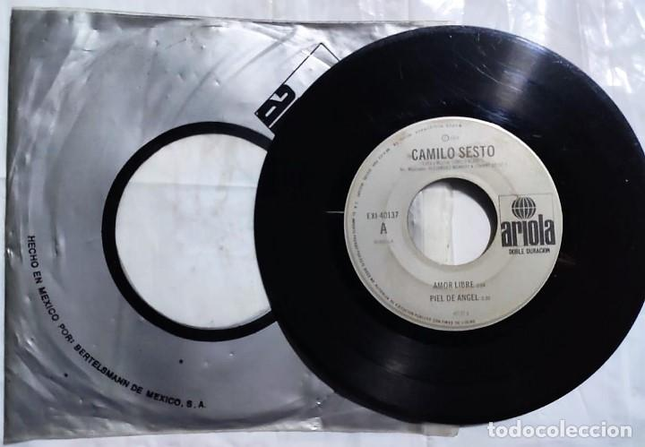 CAMILO SESTO - AMOR LIBRE / PIEL DE ANGEL / QUE DIFICIL ES SER FELIZ / ALMA DE NADIE DE 1976 MÉXICO (Música - Discos de Vinilo - EPs - Solistas Españoles de los 70 a la actualidad)