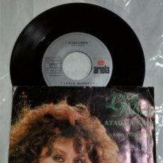 Discos de vinilo: LUCÍA MÉNDEZ - ATADA A NADA / AMO TODO DE TI DEL AÑO 1982 MÉXICO (CAMILO SESTO). Lote 193503802