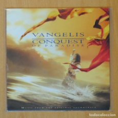 Discos de vinil: VANGELIS - CONQUEST OF PARADISE / MOXICA AND THE HORSE - SINGLE. Lote 193554337
