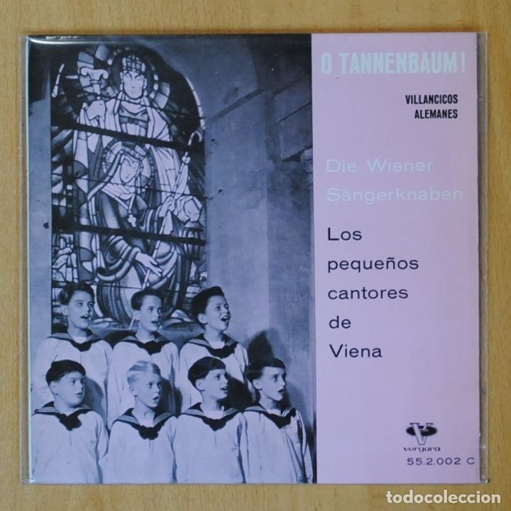 LOS PEQUEÑOS CANTORES DE VIENA - VILLANCICOS ALEMANES - EP (Música - Discos de Vinilo - EPs - Clásica, Ópera, Zarzuela y Marchas)