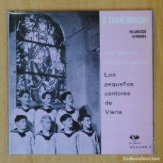 Discos de vinilo: LOS PEQUEÑOS CANTORES DE VIENA - VILLANCICOS ALEMANES - EP. Lote 193554613