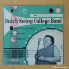 Disques de vinyle: NEVA RAPHAELLO & THE DUTCH SWING COLLEGE BAND - WHEN THE SAINTS GO MARCHING IN + 3 - EP. Lote 193555453