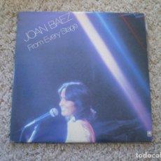 Discos de vinilo: DOBLE LP. JOAN BAEZ. FROM EVERY STAGE. BUENA CONSERVACION. Lote 193555973