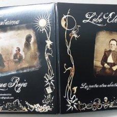 Discos de vinilo: LOBO ELÉCTRICO, FANTASMA + LUNA ROJA, PORTADA DOBLE . Lote 193559470
