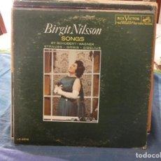 Discos de vinilo: LP BRIGIT NILSSON SONS BY SCHUBERT WAGNER Y OTROS USA 1961 ESTADO ACEPTABLE MUY BUSCADO. Lote 193566927