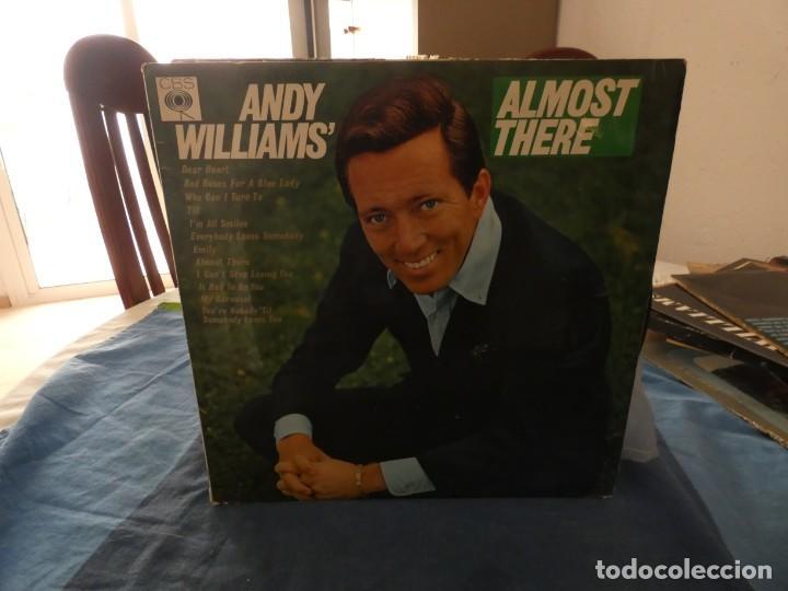 ANDY WILLIAMS DEAR HEART LP PRECIOSO USA 60S MUY BUEN ESTADO (Música - Discos - LP Vinilo - Cantautores Extranjeros)