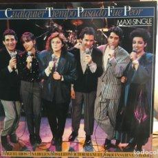 Discos de vinilo: CUALQUIER TIEMPO PASADO FUE PEOR (MIGUEL RIOS, JOAQUÍN SABINA ...) (ARIOLA) (D:NM/C:NM). Lote 193576061