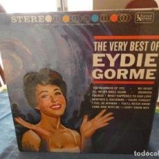 Disques de vinyle: LP AMERICANO ANTIQUISIMO THE VERY BEST OF EDDIE GORME MUY BUEN ESTADO PARA SU EDAD. Lote 193581029