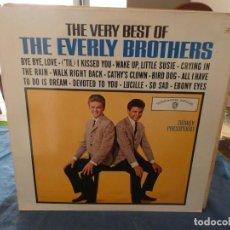 Discos de vinilo: LP INGLES DE LOS AÑOS 80 THE BEST OF THE EVERLY BROTHERS MUY BUEN ESTADO. Lote 193581298