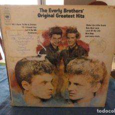 Discos de vinilo: DOBLE LP AMERICANO DE LOS EVERLY BROTHERS, ACUSA CIERTO USO AUN TOLERABLE . Lote 193581566