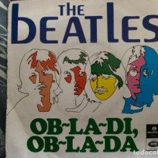 Discos de vinilo: ANTIGUO Y RARO EP THE BEATLES OB-LA-DI OB-LA-DA. Lote 193581790