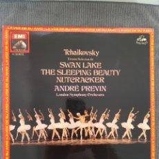 Disques de vinyle: TCHAIKOVSKY - TROZOS SELECTORS DE - SWAN LAKE. THE SLEEPING BEAUTY. NUTCRACKER. Lote 193585497