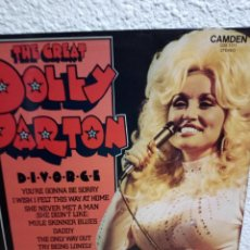 Discos de vinilo: THE GREAT DOLLY PARTON - LP ENGLAND. Lote 193611072