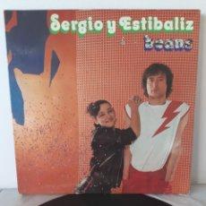 Discos de vinilo: BEANS. SERGIO Y ESTIBALIZ. 1979. ZAFIRO. ZL-271. ESPAÑA. Lote 193611855