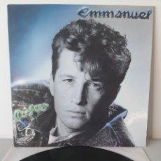 Discos de vinilo: EX/EX. EMMANUEL QUISIERA. EPIC. 1989. ESPAÑA.. Lote 193613436
