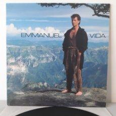 Discos de vinilo: EMMANUEL. VIDA. EPIC 1990. EPC 467423. ESPAÑA.. Lote 193613826