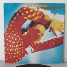 Discos de vinilo: CUT THE QUE. CRACKDOWN. MAXI. 1989. ESPAÑA.. Lote 193614238