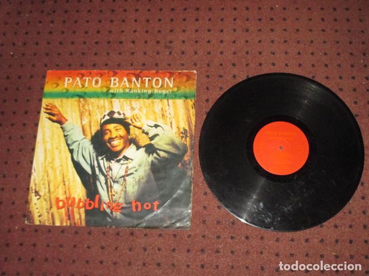 PATO BANTON & RANKING ROGER - BUBBLING HOT - MAXI - UK - VIRGIN - IBL (Música - Discos de Vinilo - Maxi Singles - Reggae - Ska)