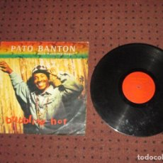 Discos de vinilo: PATO BANTON & RANKING ROGER - BUBBLING HOT - MAXI - UK - VIRGIN - IBL . Lote 193624860