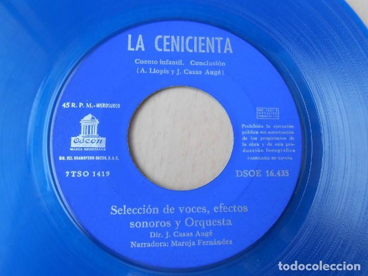 Discos de vinilo: CUENTO LA CENICIENTA, EP, 1ª PARTE + 1, AÑO 1961 - Foto 5 - 193633507