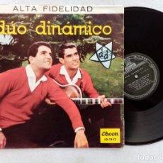 Discos de vinilo: DUO DINAMICO - RARO LP PERUANO - ODEON. Lote 193635495