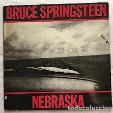 Discos de vinilo: BRUCE SPRINGSTEEN – NEBRASKA (SPAIN; CBS S 25 100; 1982). GATEFOLD.. Lote 193653113