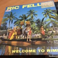 Discos de vinilo: RIC FELLINI (WELCOME TO RIMINII) MAXI ITALO DISCO 1984 ESPAÑA (B-10). Lote 261130855